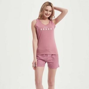 Pijama curto algodão Alicia...