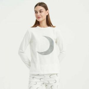 Pijama polar Luna natural