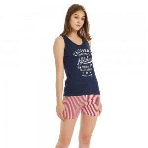 pijama curto CALIFORNIA azul