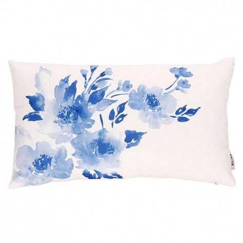 Capa de Almofada Flores Azuis capa-de-almofada-impressas