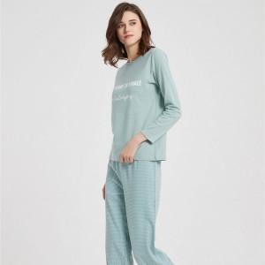 Pijama comprido Algodão...