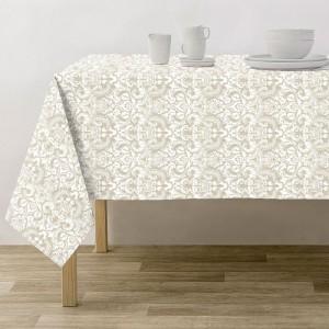 Toalha de mesa Munia Branca
