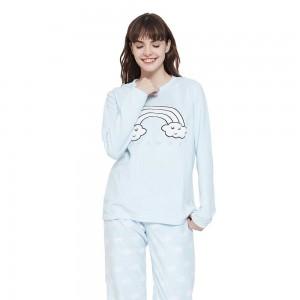 Pijama polar Arco-iris Azul...
