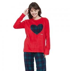Pijama polar Corazón
