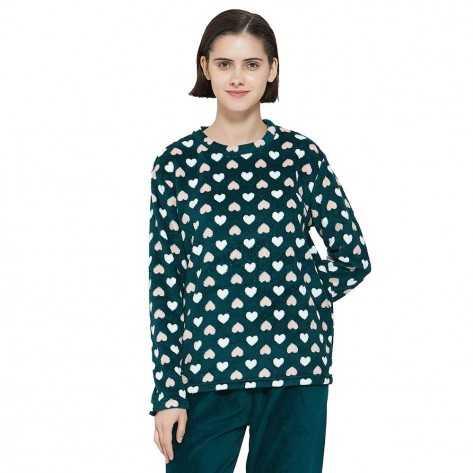 Pijama coral Celia pijama-inverno