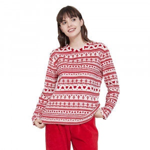 Pijama coral Cristina Vermelho