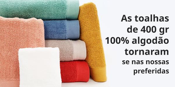 Por que é que as toalhas de 400gr algodão turco se tornaram nas nossas favoritas?