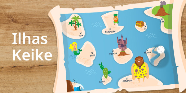 A nova coleção Ilha keike