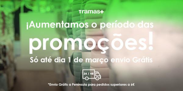Promoção Terminada. Prolongamos as promoções com envio grátis